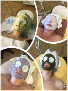 Obličejové masky - rekvalifikace na kosmetičku
